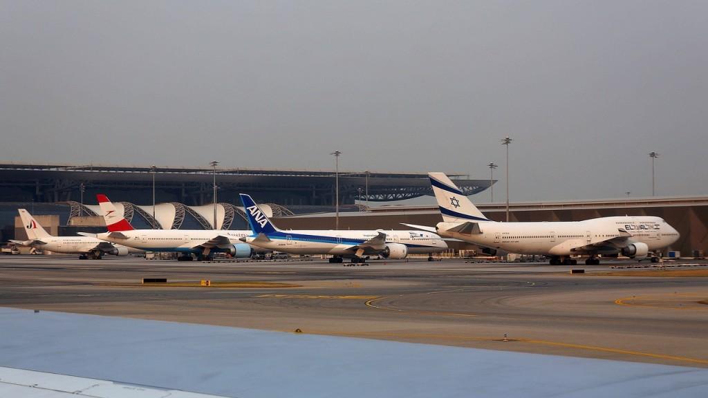 Planes at Suvarnabhumi Airport