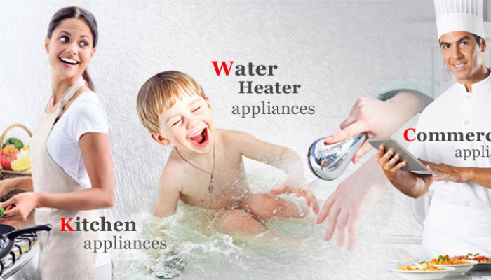 Rinnai Kitchen and Water Heater Appliances